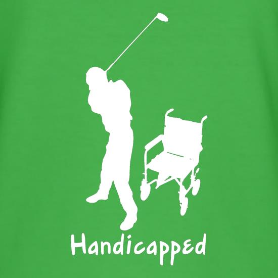Handicapped t shirt