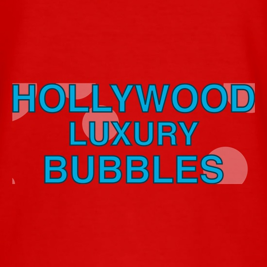Hollywood Luxury Bubbles Car Wash t shirt