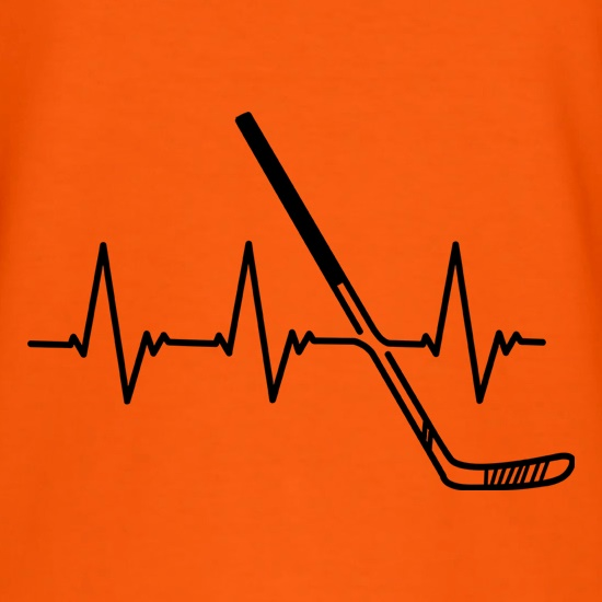 Ice Hockey Heartbeat t shirt