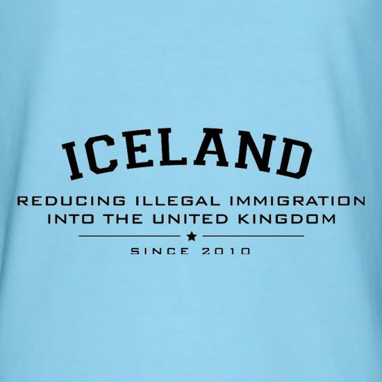 Iceland Reducing Illegal Immigration Since 2010 t shirt