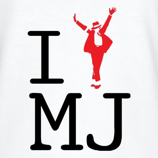 I Heart MJ t shirt