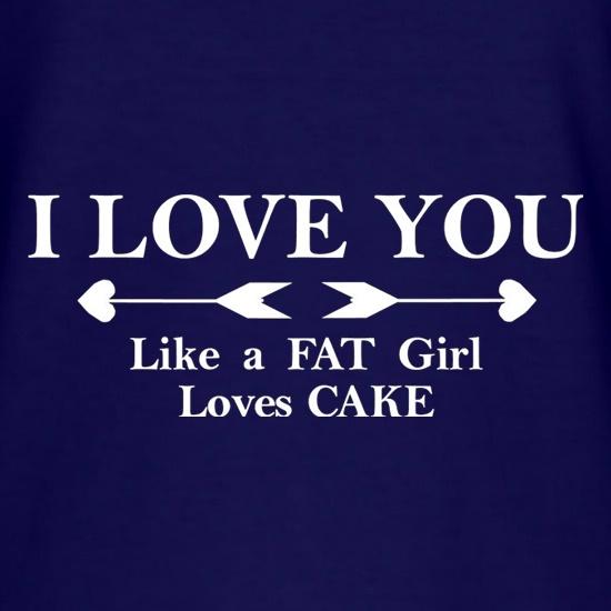 cake loves Fat girl