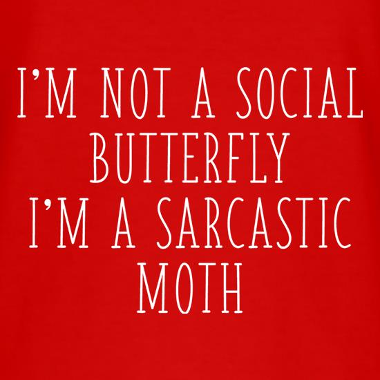 I'm Not A Social Butterfly t shirt