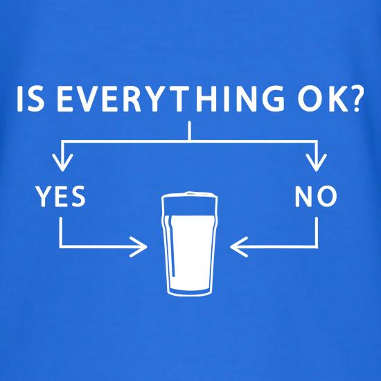 Is Everything Ok? t shirt