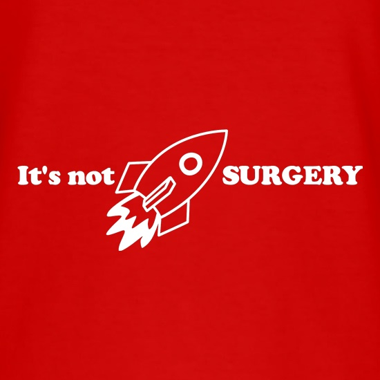It is not Rocket Surgery t shirt