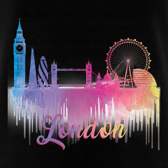 London Silhouette t shirt