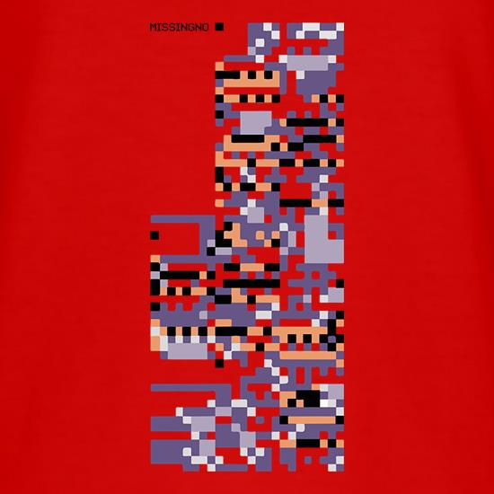 MissingNo t shirt