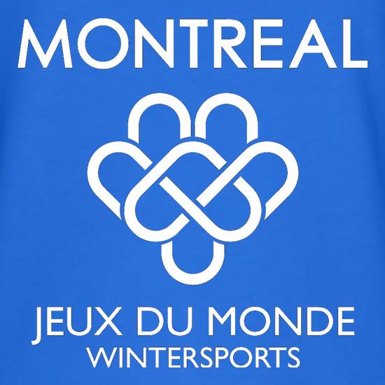 Montreal Wintersports t shirt