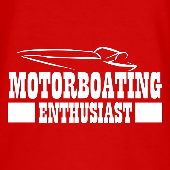 Motorboating Enthusiast t shirt