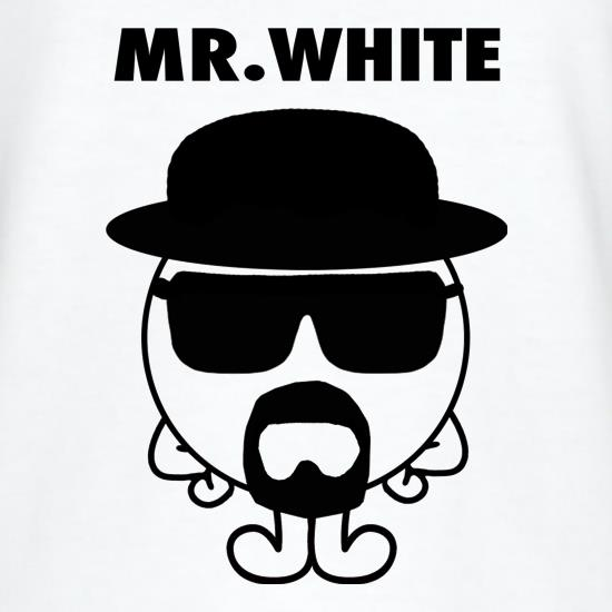 Mr. White t shirt
