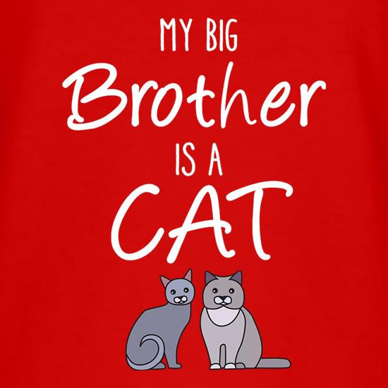 Mt Big Brother Is A Cat t shirt