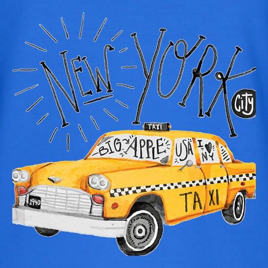 New York Taxi t shirt