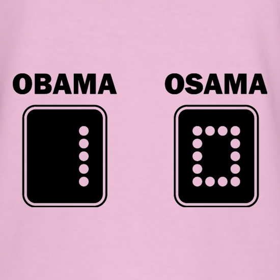Obama vs Osama t shirt
