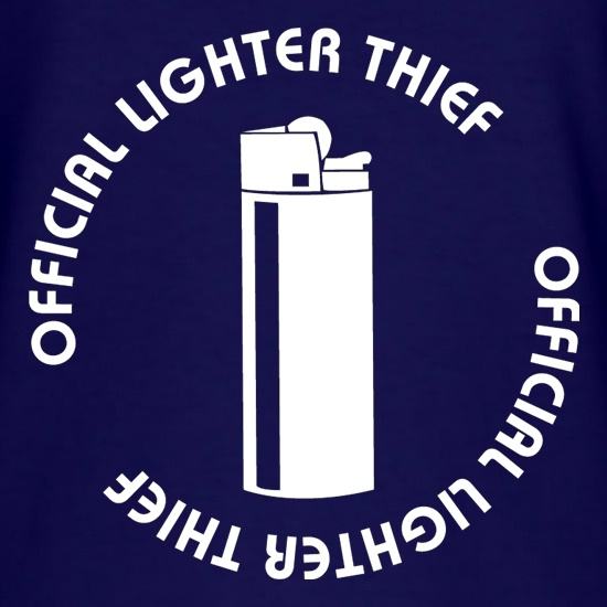 Official Lighter Thief t shirt