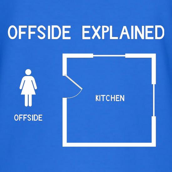 Offside Explained t shirt