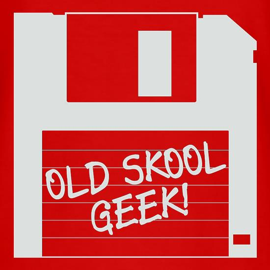 Old School Geek t shirt