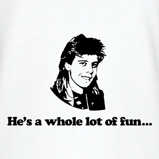 Pat Sharp he's a whole lot of fun t shirt