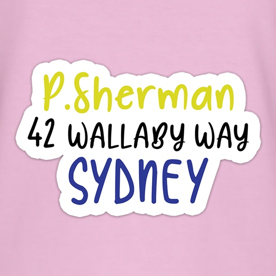 P Sherman t shirt