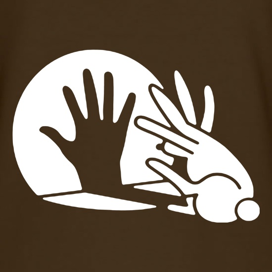 Rabbit Silhouette t shirt