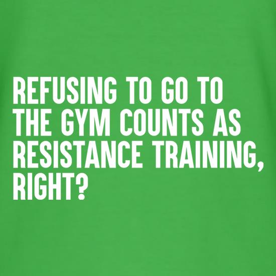 Resistance Training t shirt