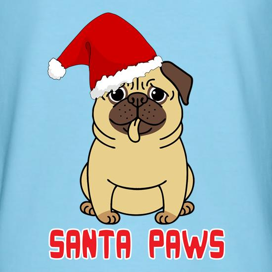 Santa Paws Doggy t shirt