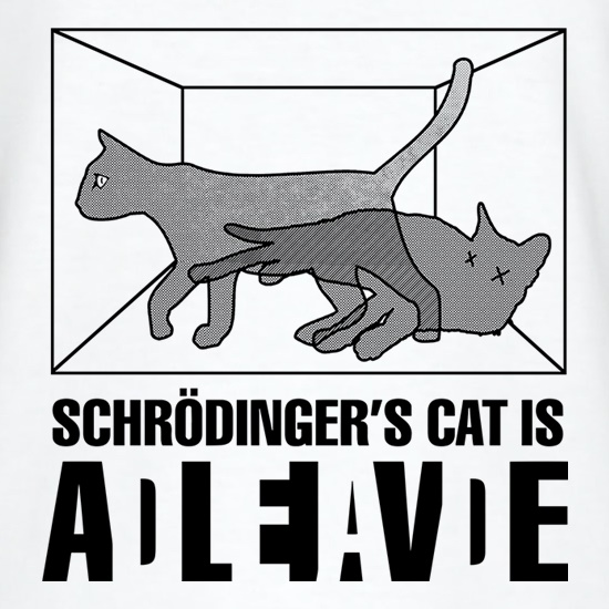 Schrodinger's Cat Box t shirt