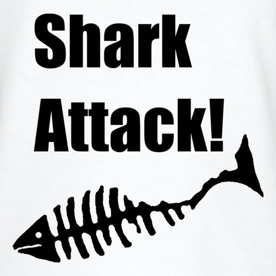 Shark Attack t shirt