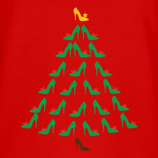 Shoe Christmas Tree t shirt