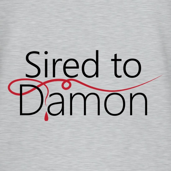 Sired To Damon t shirt