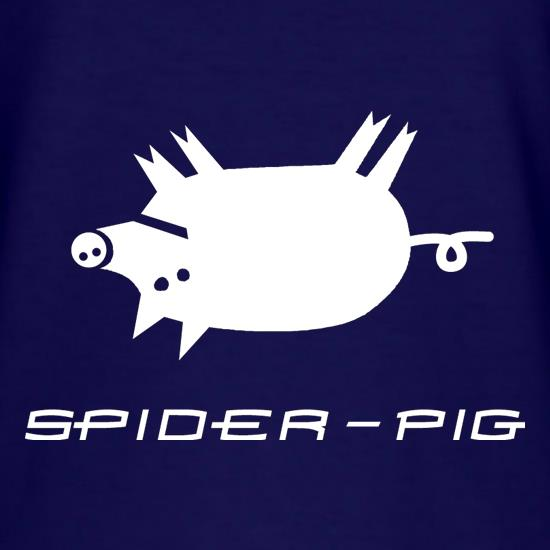 Spider Pig T Shirt By Chargrilled
