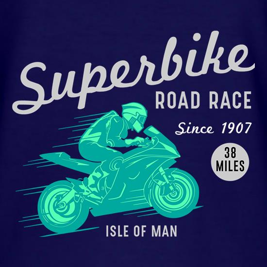 Superbike Road Race t shirt