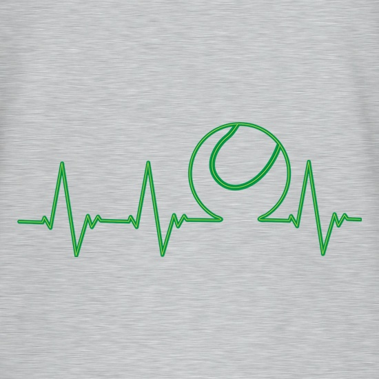Tennis Heartbeat t shirt
