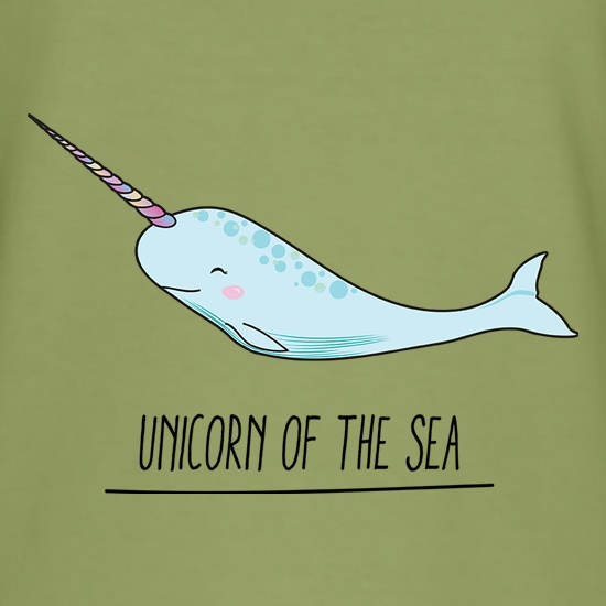 Unicorn Of The Sea t shirt