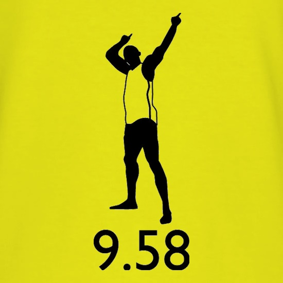 Usain Bolt 9.58 t shirt