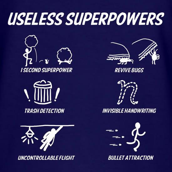 Useless Superpowers t shirt