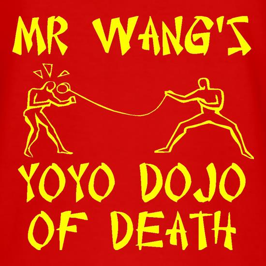 Mr Wang's yoyo dojo of death t shirt
