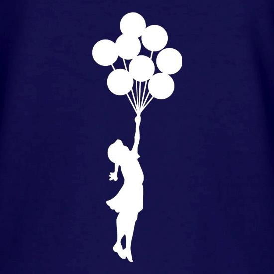 Banksy Girl t shirt